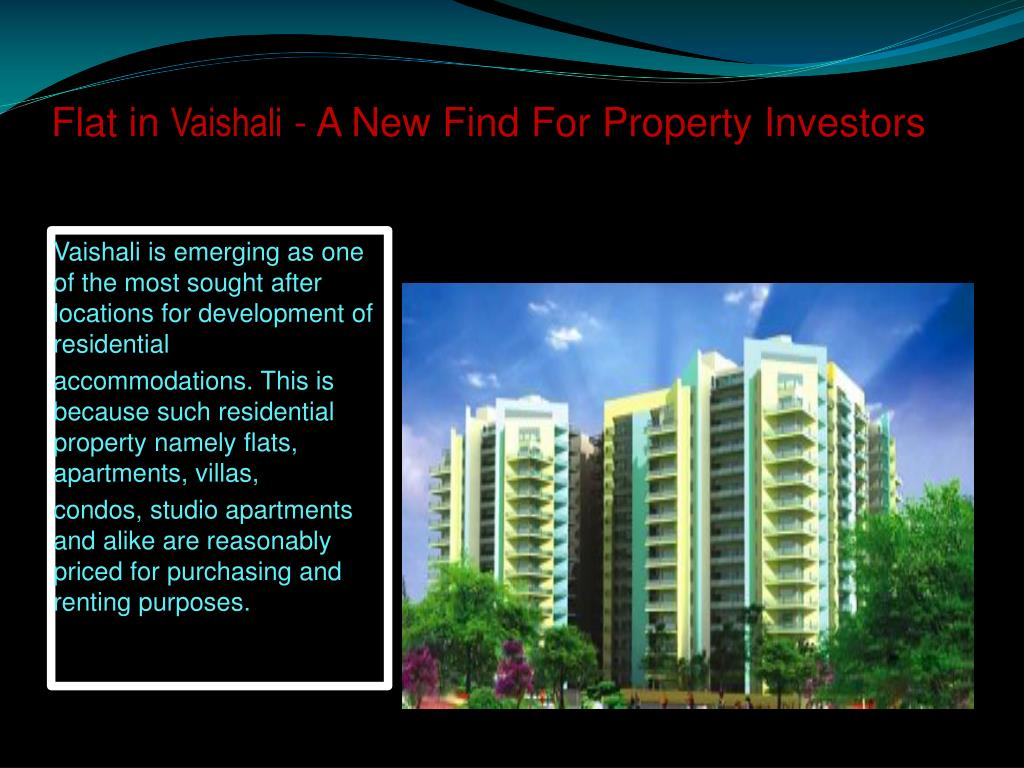 flat in vaishali a new find for property investors
