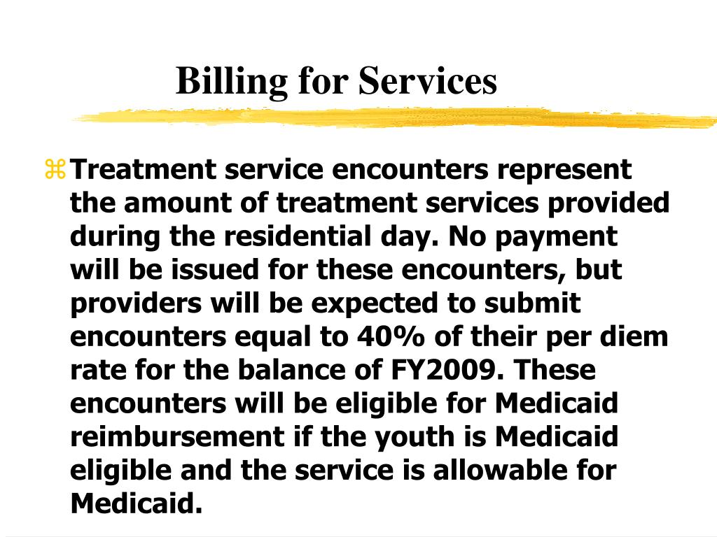 Billing for Services