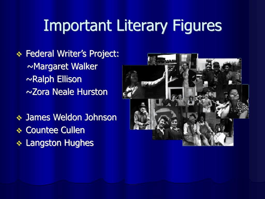 Important Literary Figures