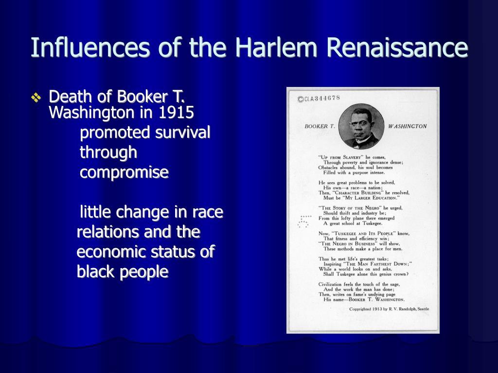 Influences of the Harlem Renaissance