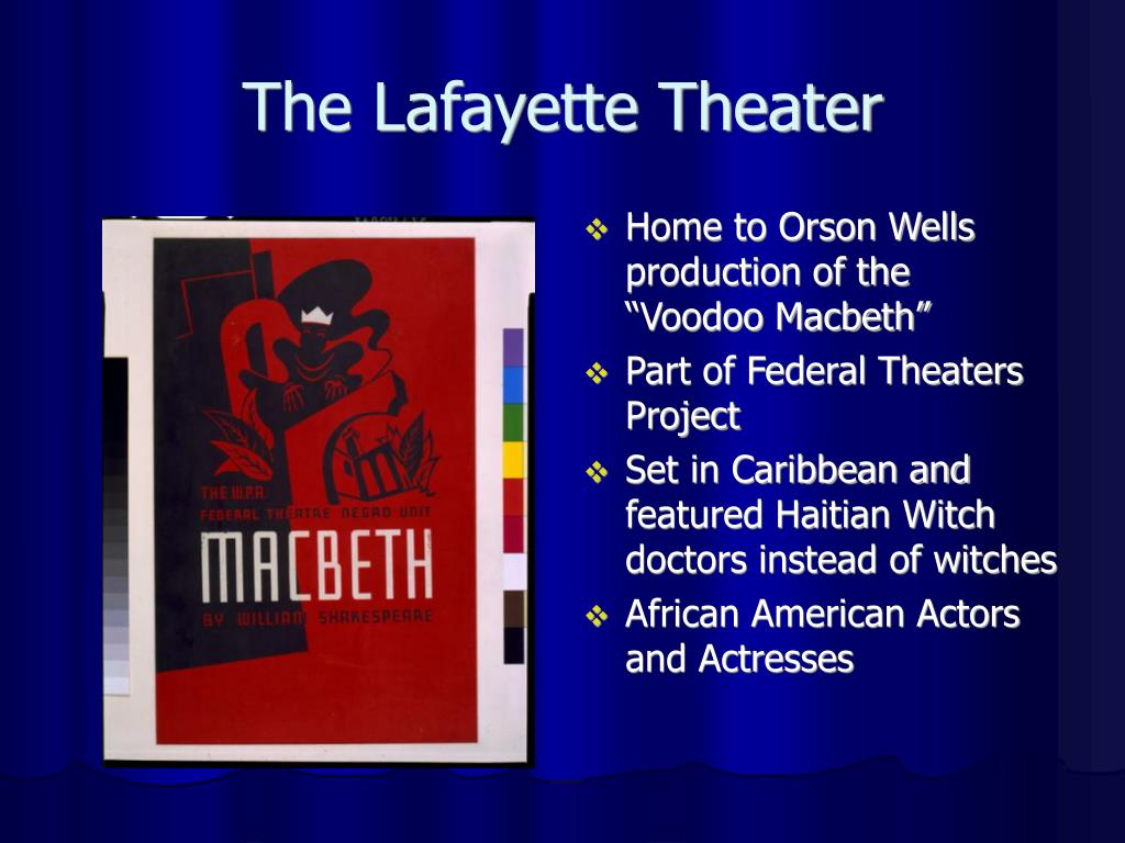 The Lafayette Theater