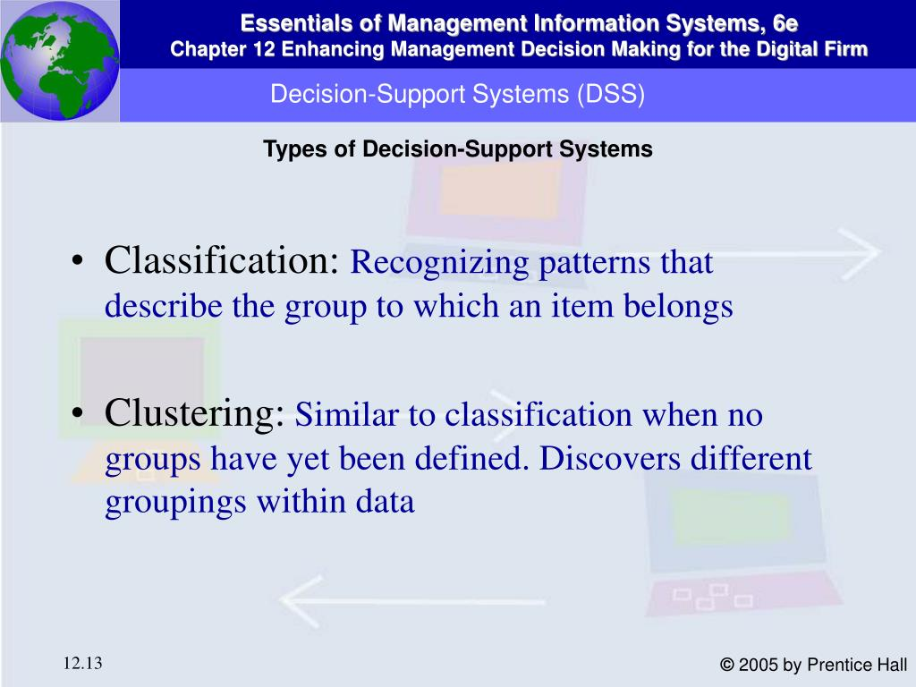 Decision-Support Systems (DSS)
