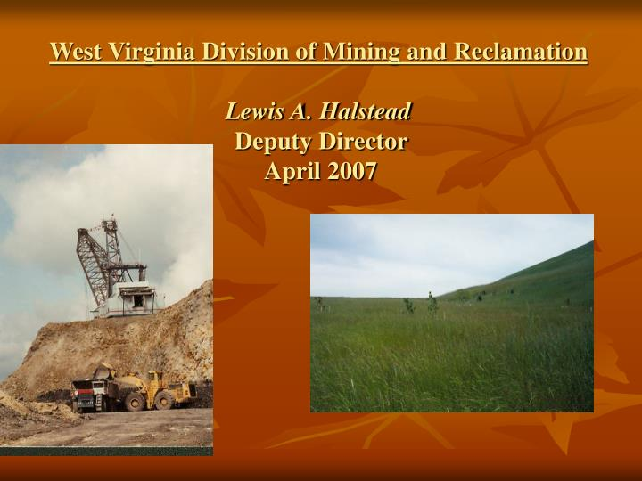 West Virginia Division of Mining and Reclamation