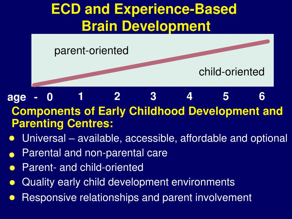 ECD and Experience-Based