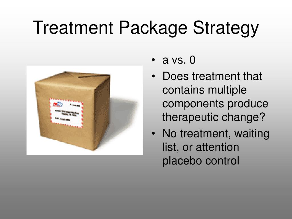 Treatment Package Strategy