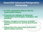greenchill advanced refrigeration partnership