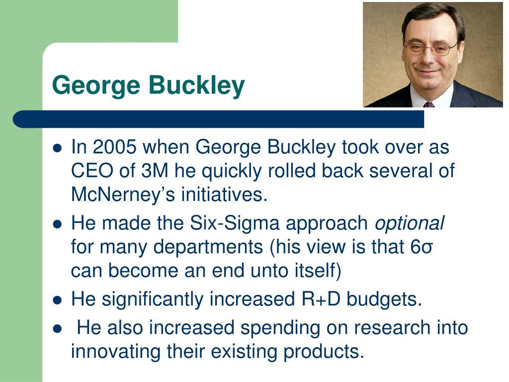 George Buckley