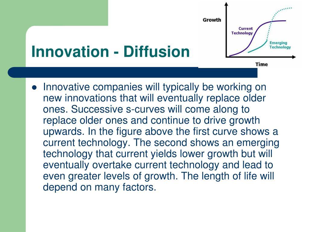 Innovation - Diffusion