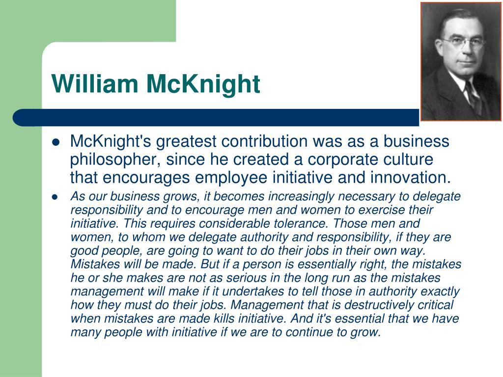 William McKnight