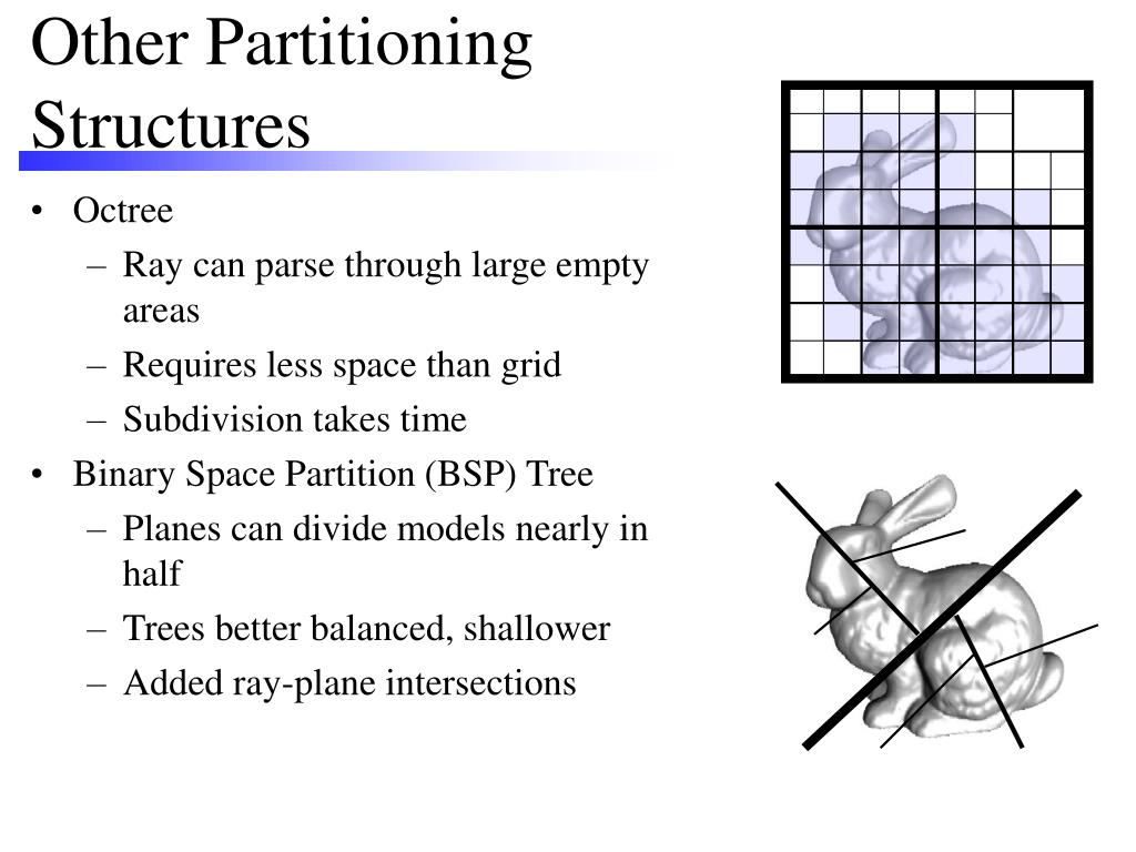 Other Partitioning Structures