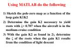 using matlab do the following