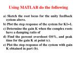 using matlab do the following14