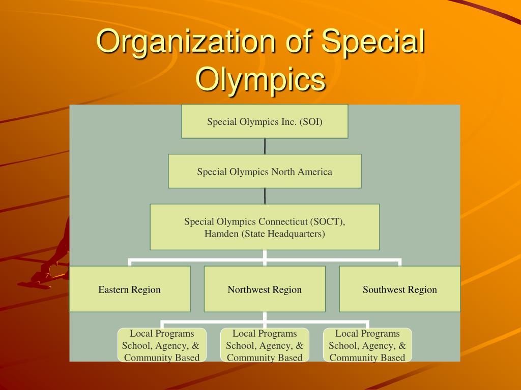 Organization of Special Olympics
