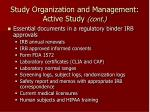 study organization and management active study cont22