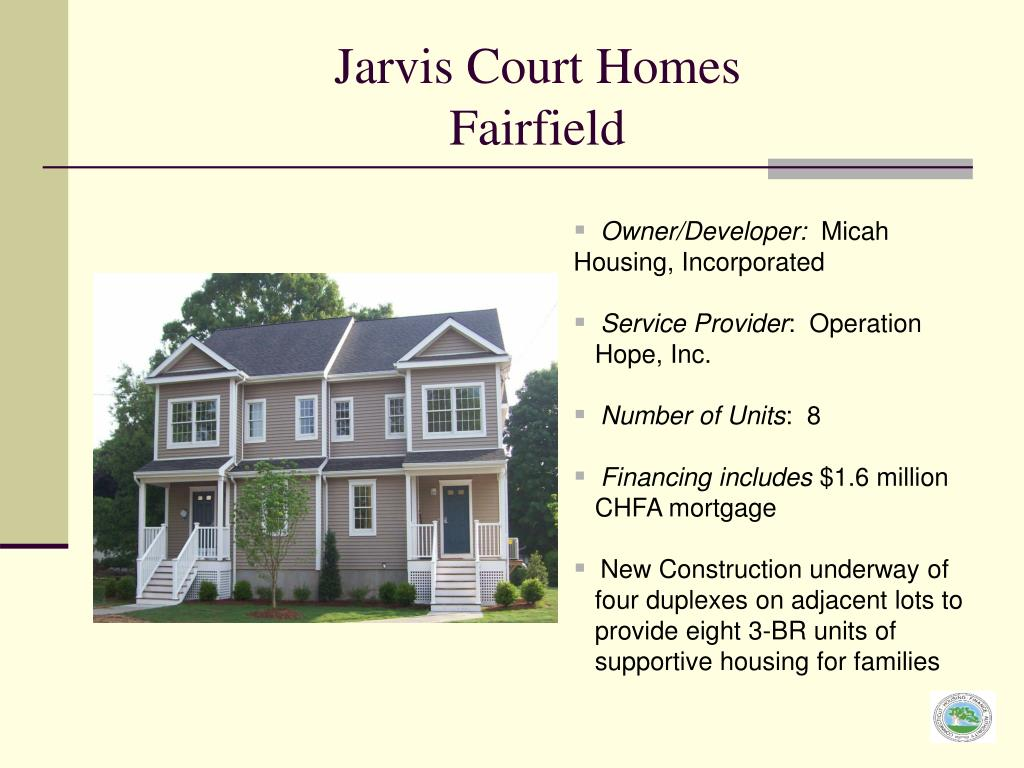 Jarvis Court Homes