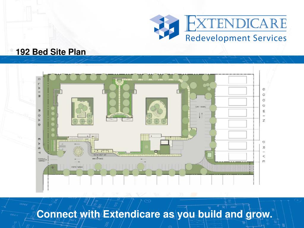 192 Bed Site Plan