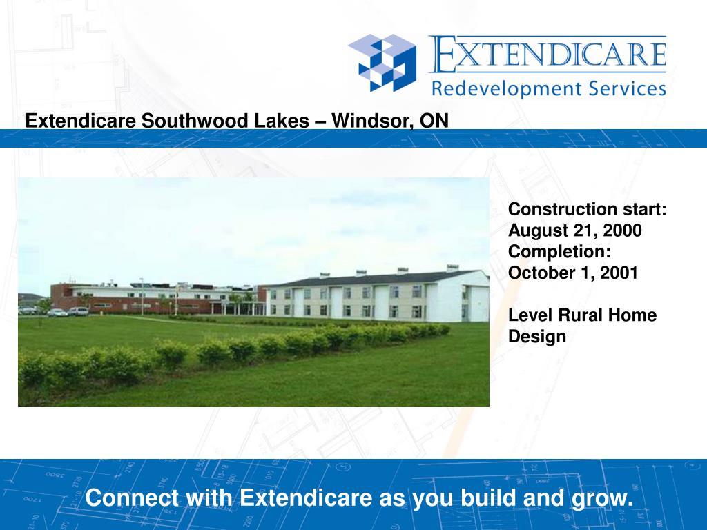 Extendicare Southwood Lakes – Windsor, ON