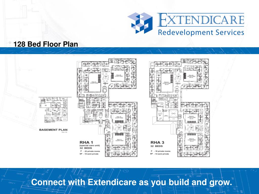 128 Bed Floor Plan