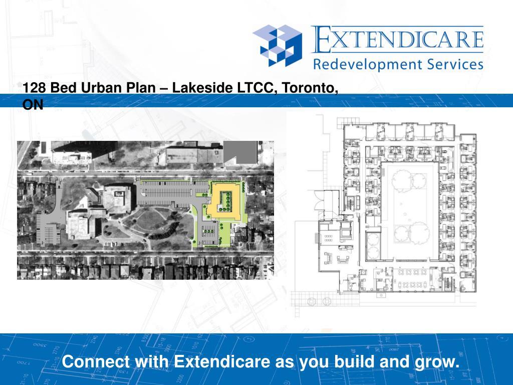 128 Bed Urban Plan – Lakeside LTCC, Toronto, ON