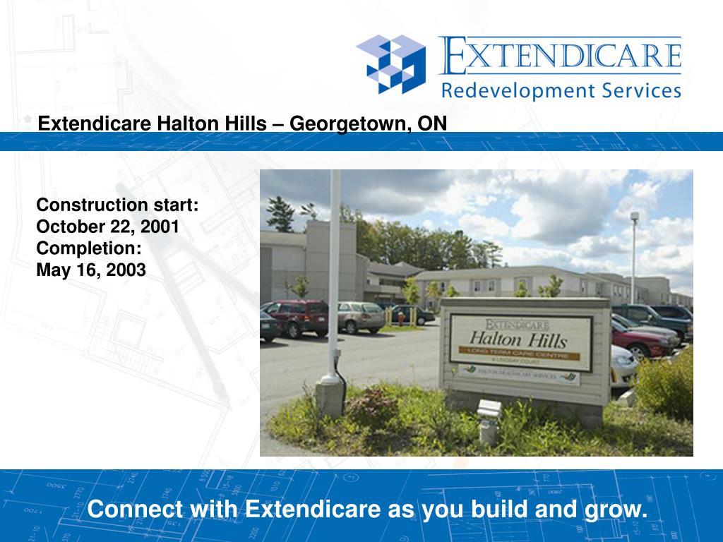 Extendicare Halton Hills – Georgetown, ON