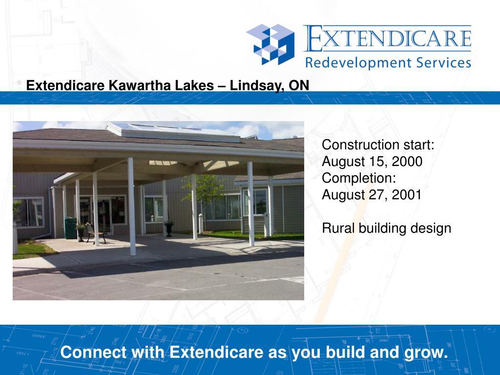 Extendicare Kawartha Lakes – Lindsay, ON