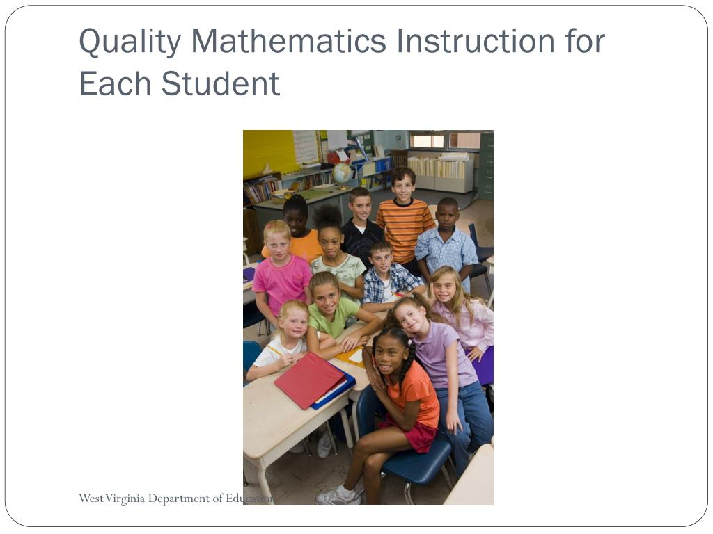 Quality Mathematics Instruction for Each Student