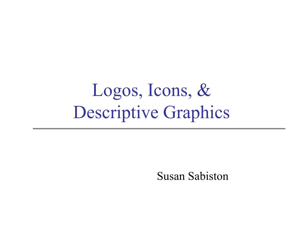 logos icons descriptive graphics l.