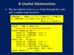 a useful abstraction