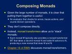 composing monads