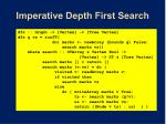 imperative depth first search43