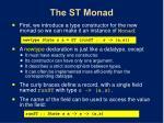 the st monad