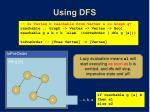 using dfs