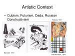 artistic context