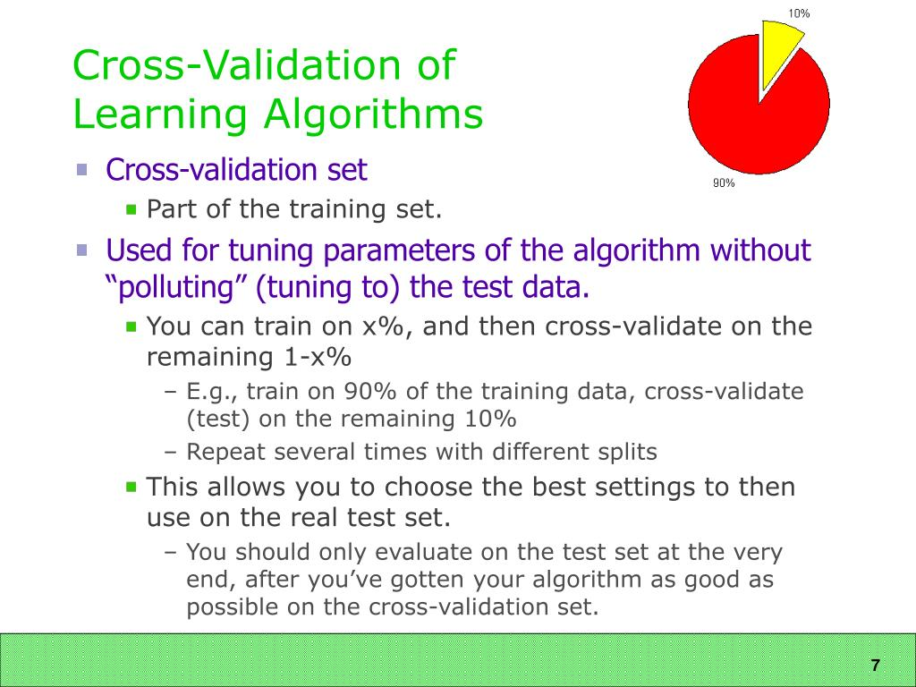 Cross-Validation of