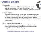 graduate schools