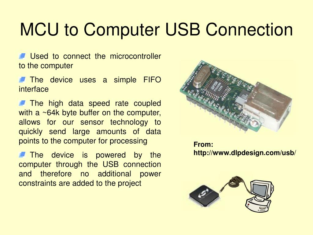 MCU to Computer USB Connection