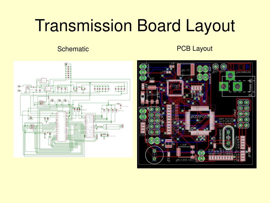 Transmission Board Layout
