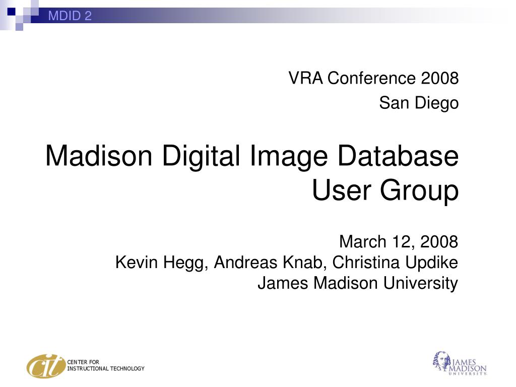 march 12 2008 kevin hegg andreas knab christina updike james madison university l.