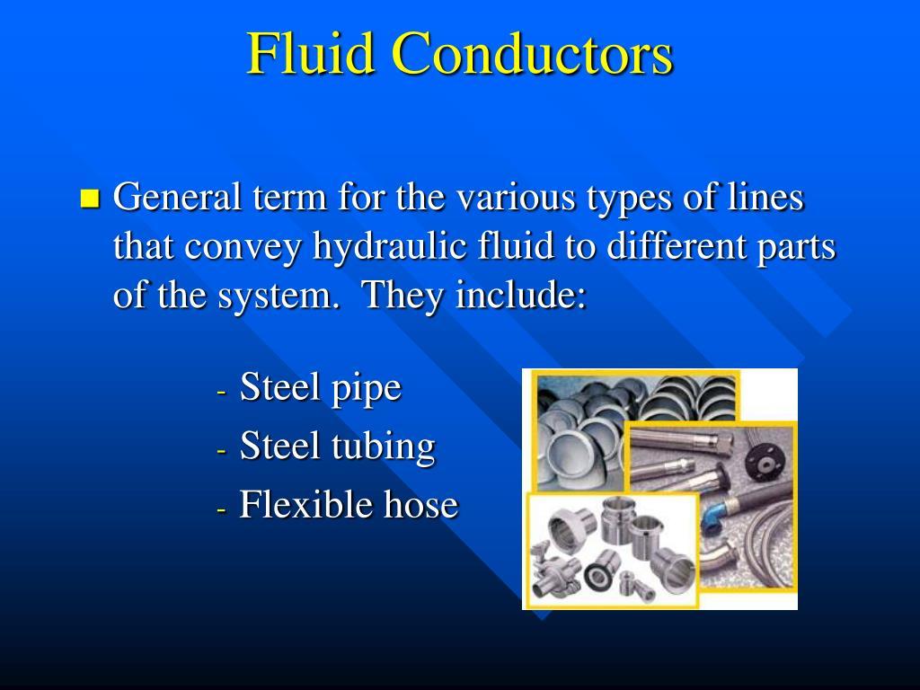 Fluid Conductors
