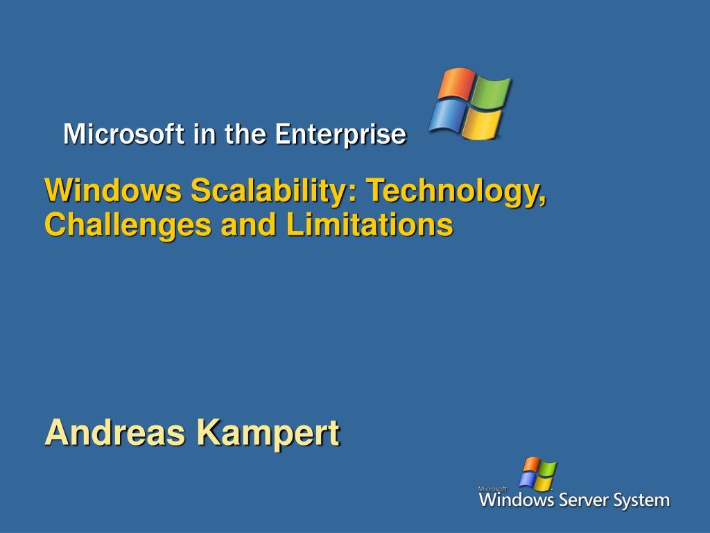 Microsoft in the Enterprise