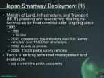 japan smartway deployment 1