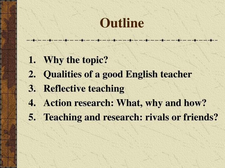Good english teacher features
