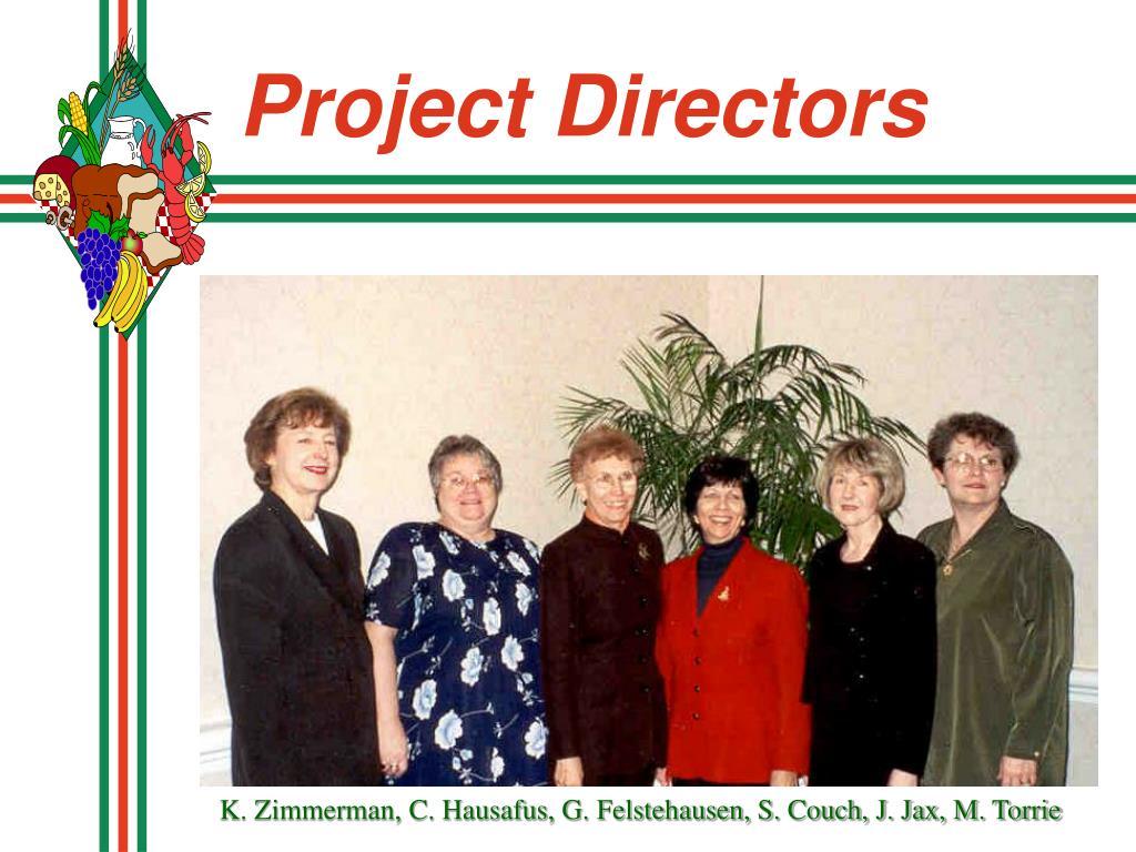Project Directors