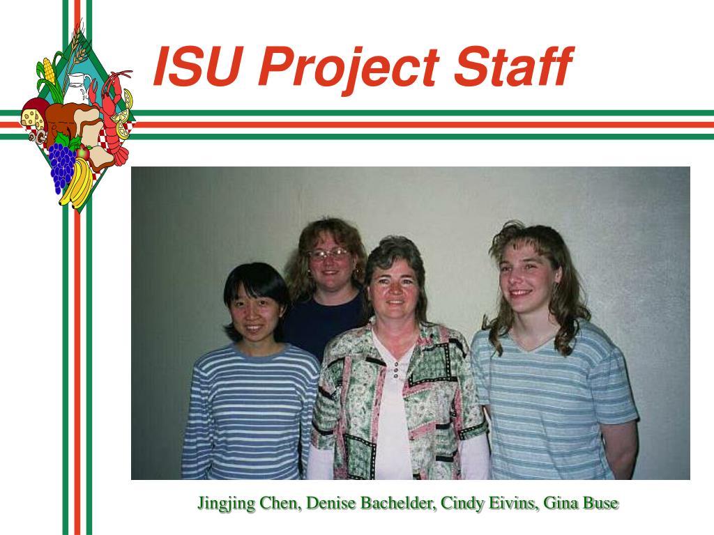 ISU Project Staff