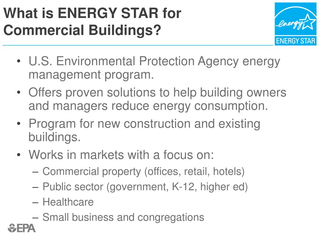 What is ENERGY STAR for
