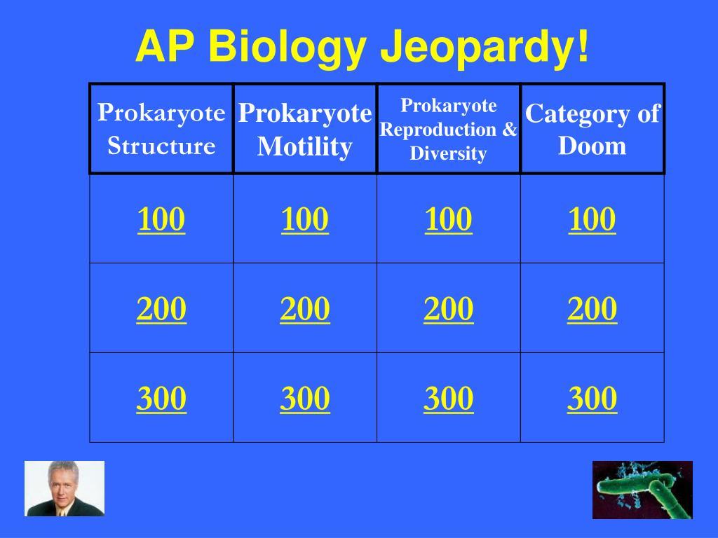 AP Biology Jeopardy!