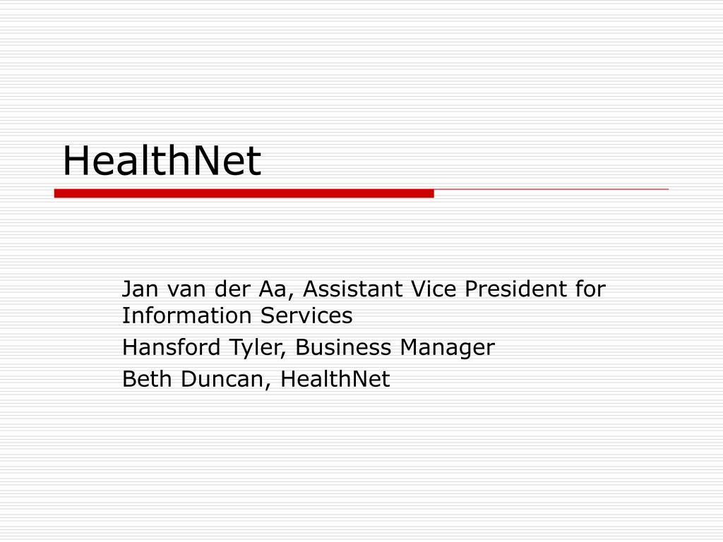 healthnet l.