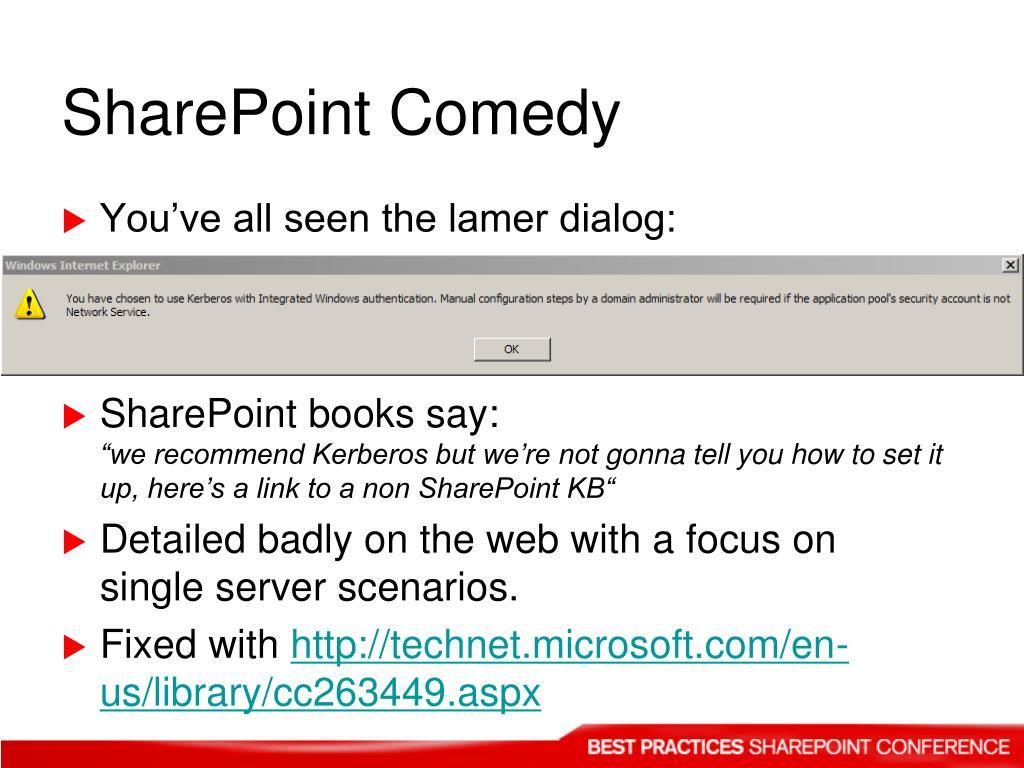 SharePoint Comedy