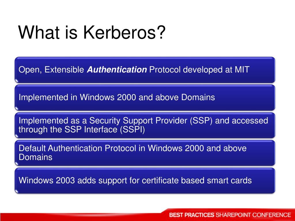 What is Kerberos?