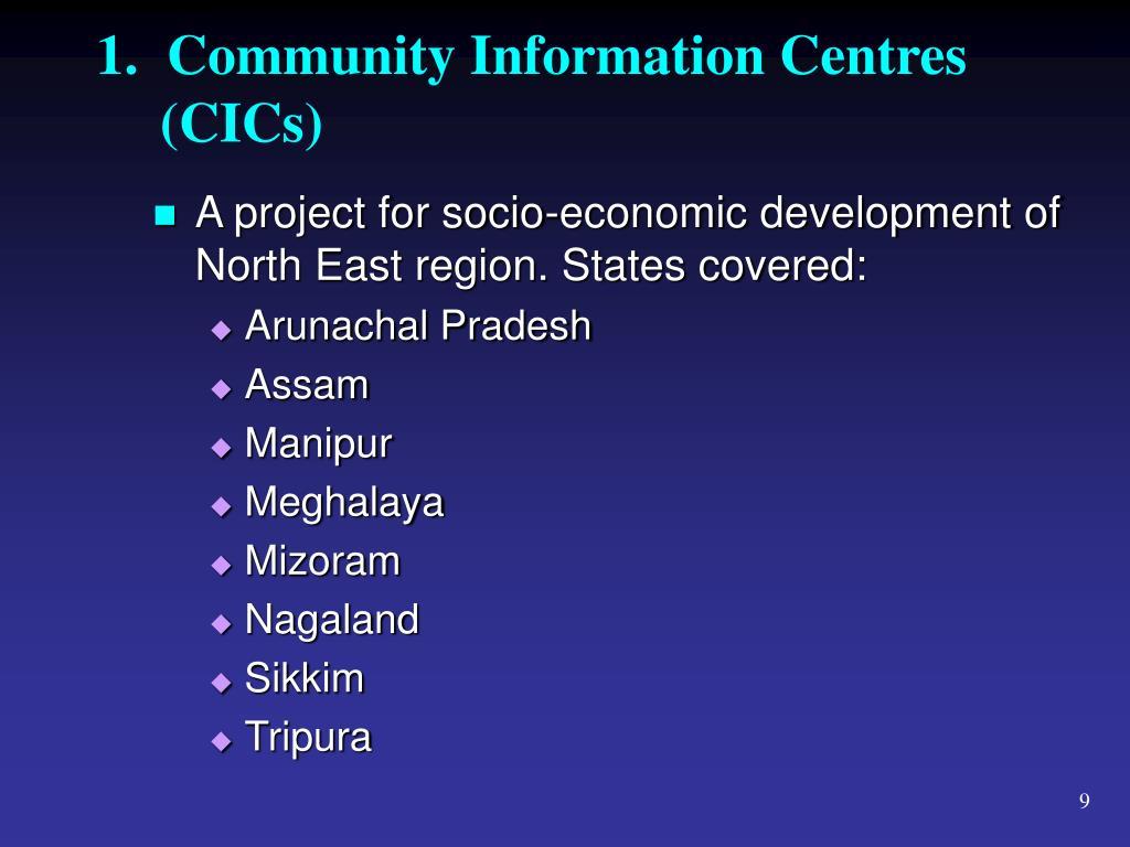 1.  Community Information Centres
